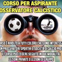 """CORSO """"OSSERVATORE CALCISTICO"""""""